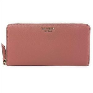 kate spade new york continental wallet pink -NWOT
